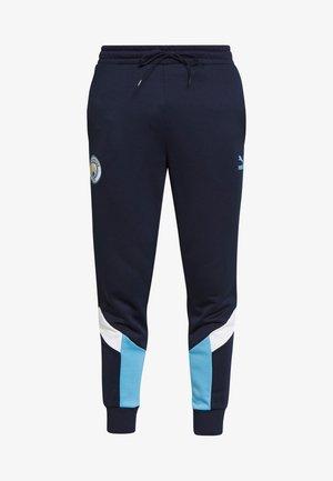 MANCHESTER CITY ICONIC TRACK PANTS - Fanartikel - peacoat/team light blue