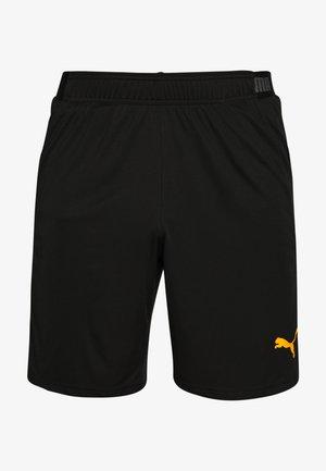 SHORTS - Sportovní kraťasy - puma black/ultra yellow