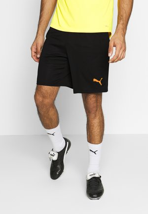 SHORTS - Korte broeken - puma black/ultra yellow