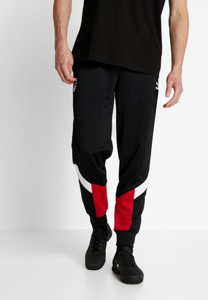 AC MAILAND ICONIC TRACK PANTS - Club wear - black