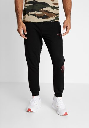 PUMA X DANIEL  FUCHS MAGIC FOX - Tracksuit bottoms - black