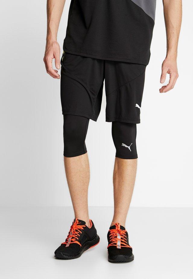 IGNITE - 3/4 sports trousers - black
