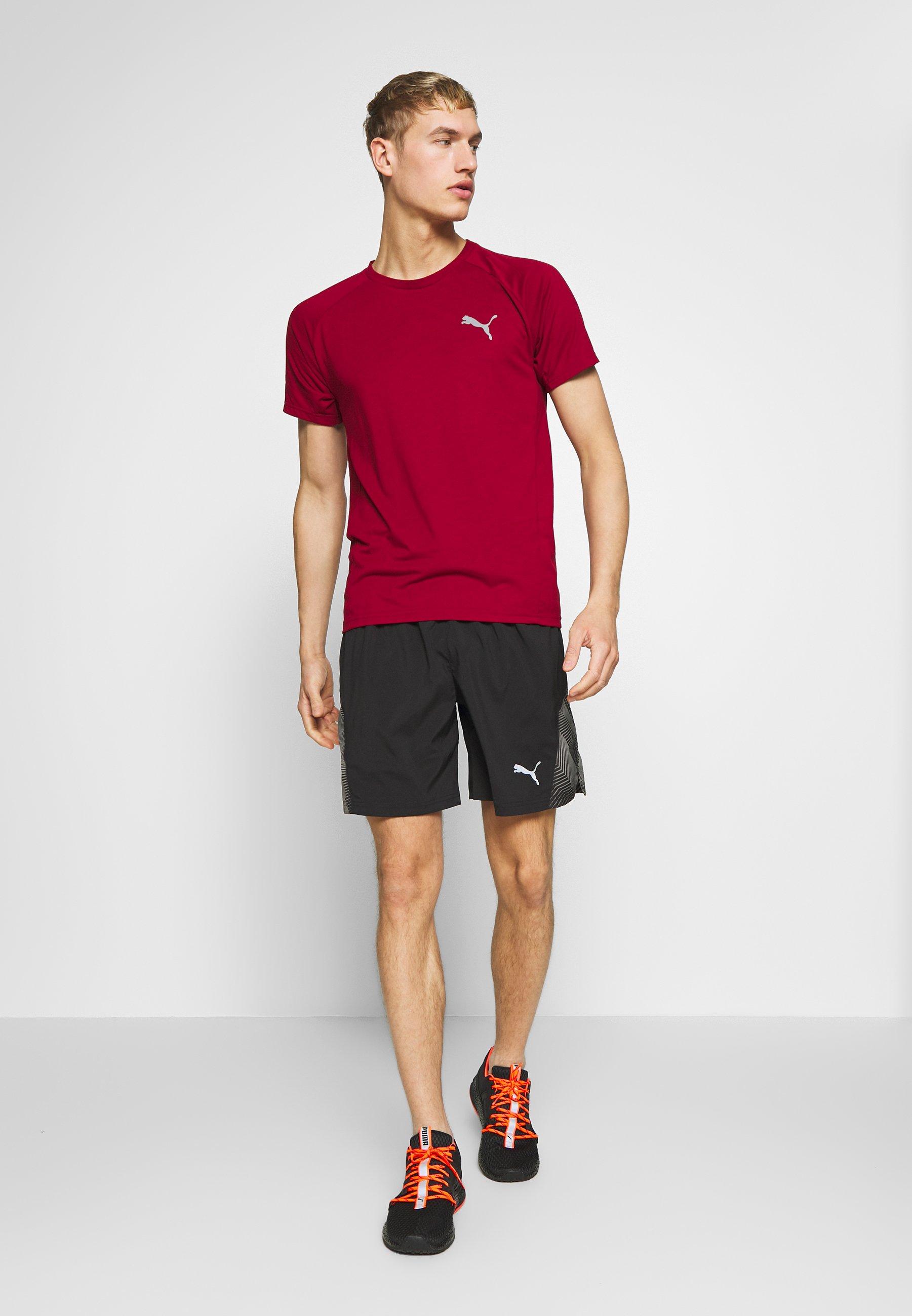 "Puma LAST LAP 7"" GRAPHIC SHORT - Pantaloncini sportivi - black"