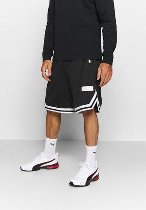 HOOPS SHORT - kurze Sporthose - puma black