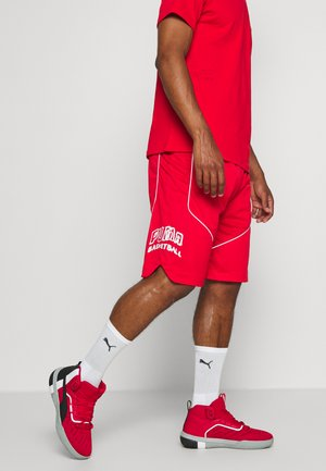 HOOPS HOOPS GAME SHORT - Pantaloncini sportivi - high risk red