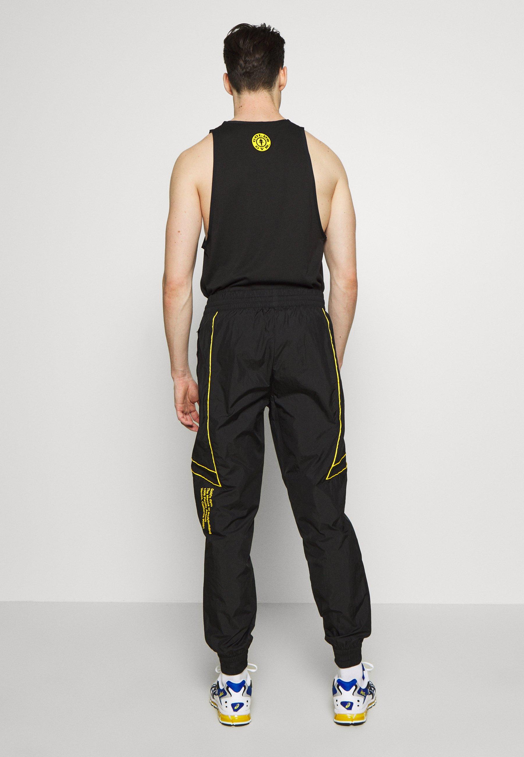 Puma Gold\'s Gym Pant - Jogginghose Black/dandelion Black Friday