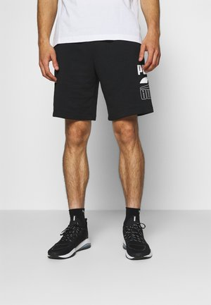 REBEL SHORTS - Pantalón corto de deporte - black