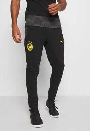 BVB BORUSSIA DORTMUND CASUALS PANTS - Equipación de clubes - black