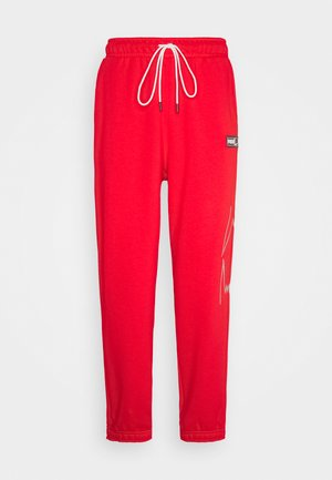 FRANCHISE - Tracksuit bottoms - high risk red