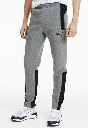 EVOSTRIPE MEN'S HOMMES - Tracksuit bottoms - medium gray heather