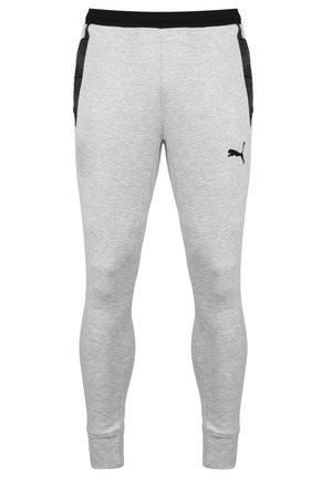 TEAMFINAL - Tracksuit bottoms - light grey heather