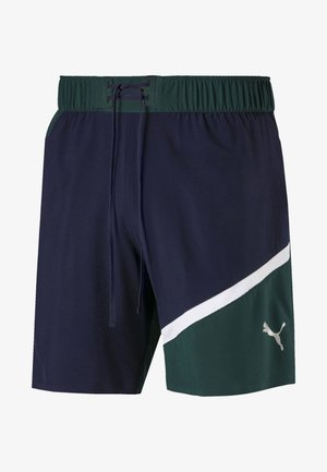 Sports shorts - peacoat-ponderosa pine
