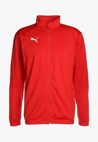Puma - LIGA TRAINING JACKET - Trainingsvest - red/white - 5