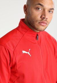 Puma - LIGA TRAINING JACKET - Trainingsvest - red/white - 4