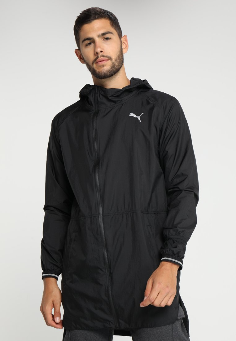 Puma - NERVERRUNBACK LITE JACKET - Trainingsjacke - black