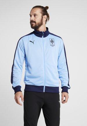 BORUSSIA MÖNCHENGLADBACH TRACK JACKET - Club wear - team light blue peacoat
