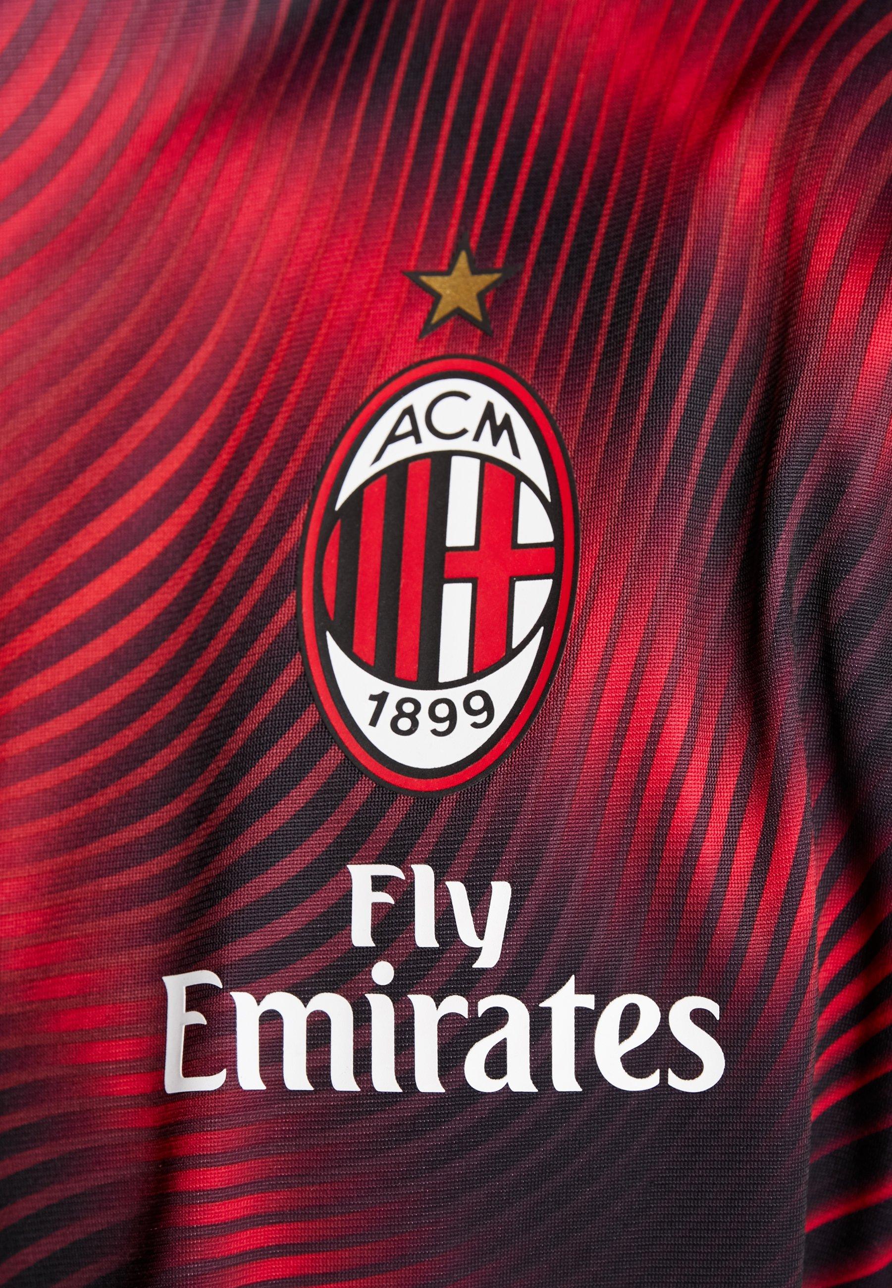 Puma AC MAILAND STADIUM JACKET - Article de supporter tango red/black
