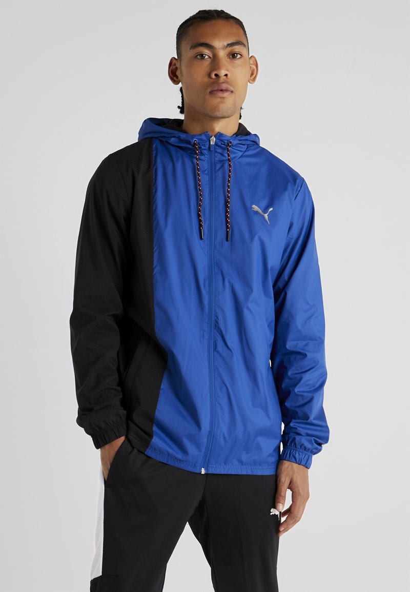 Puma - COLLECTIVE JACKET - Chaqueta de entrenamiento - galaxy blue/puma black