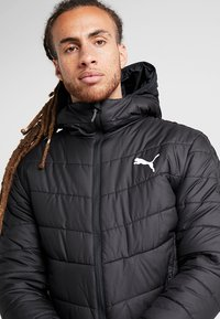 Puma - WARMCELL PADDED JACKET - Vinterjacka - black - 3