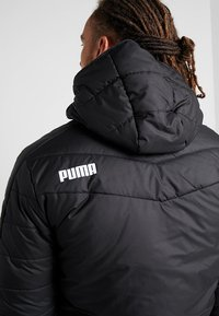 Puma - WARMCELL PADDED JACKET - Vinterjacka - black - 5