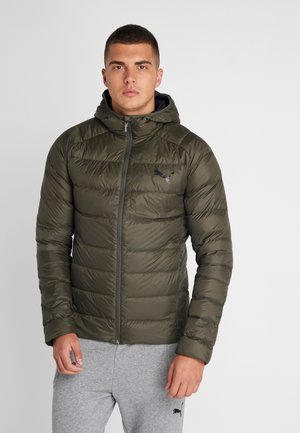 WARM PACKLITE JACKET - Untuvatakki - forest night