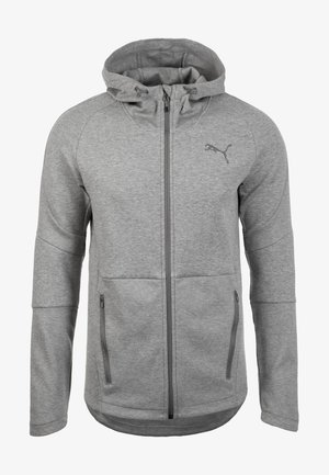 Veste de survêtement - medium gray heather