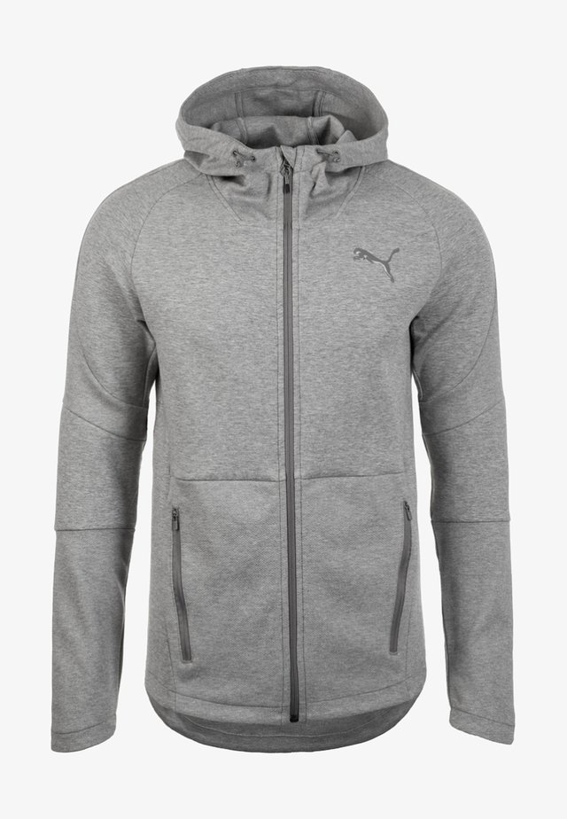 Veste de survêtement - medium gray heather