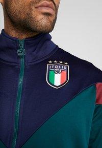 Puma - ITALIEN FIGC ICONIC TRACK - Chaqueta de entrenamiento - ponderosa pine/peacoat - 3