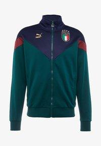 Puma - ITALIEN FIGC ICONIC TRACK - Chaqueta de entrenamiento - ponderosa pine/peacoat - 5