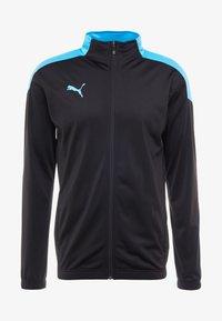 Puma - FTBLNXT TRACK JACKET - Training jacket - black/luminous blue - 3