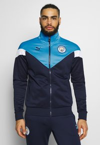 Puma - MANCHESTER CITY ICONIC TRACK  - Trainingsvest - peacoat/team light blue - 0