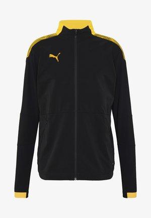 PRO JACKET - Kurtka sportowa - black/ultra yellow