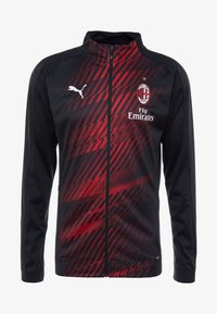 Puma - AC MAILAND STADIUM JACKET SPONSOR - Article de supporter - black/tango red