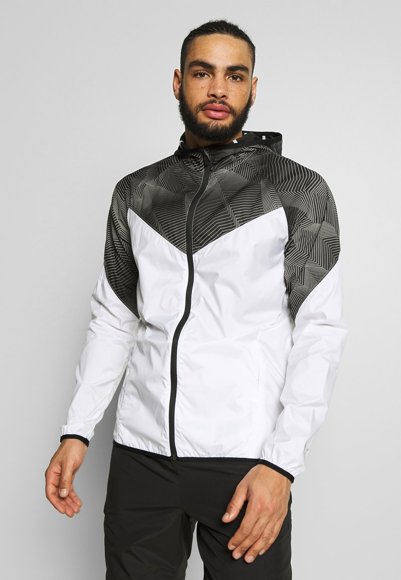 Puma - LAST LAP GRAPHIC JACKET - Sports jacket - puma white