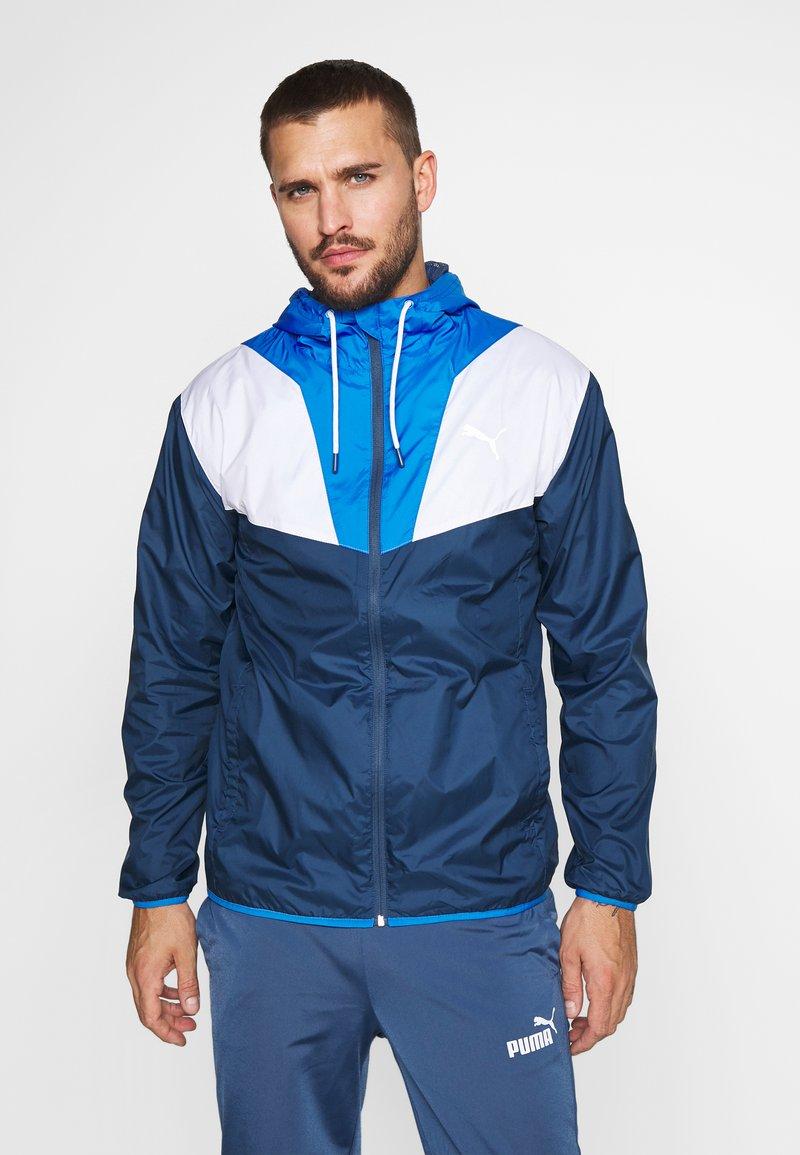 Puma - REACTIVE JACKET - Training jacket - dark denim/palace blue/white