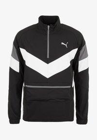 Puma - Sports jacket - black/white/castlerock - 0