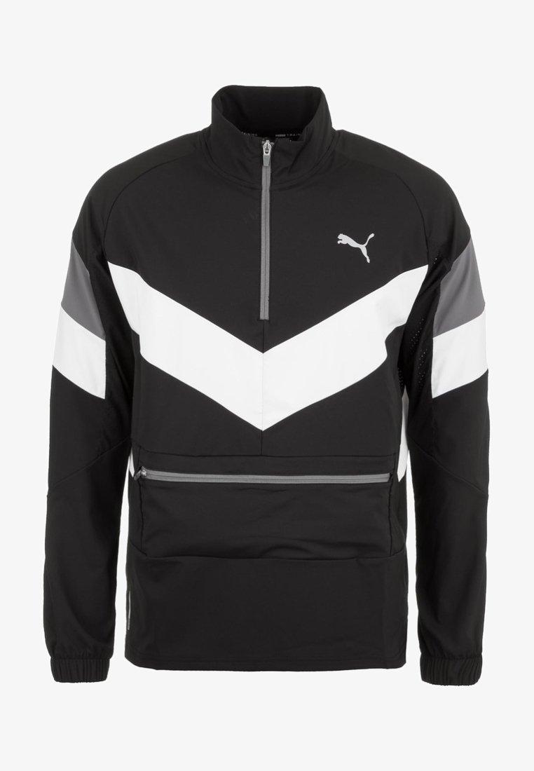 Puma - Sports jacket - black/white/castlerock