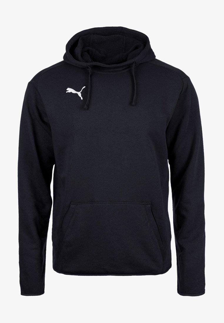 Puma - LIGA - Bluza z kapturem - black