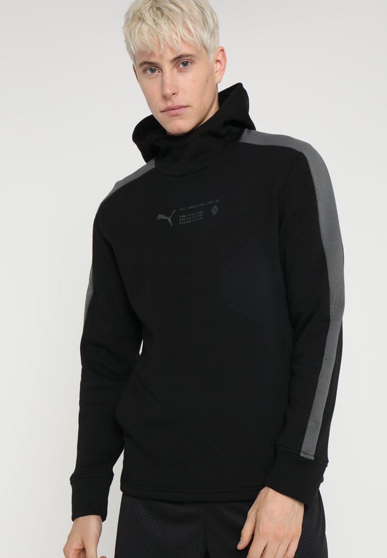Puma - HOODY - Club wear - black