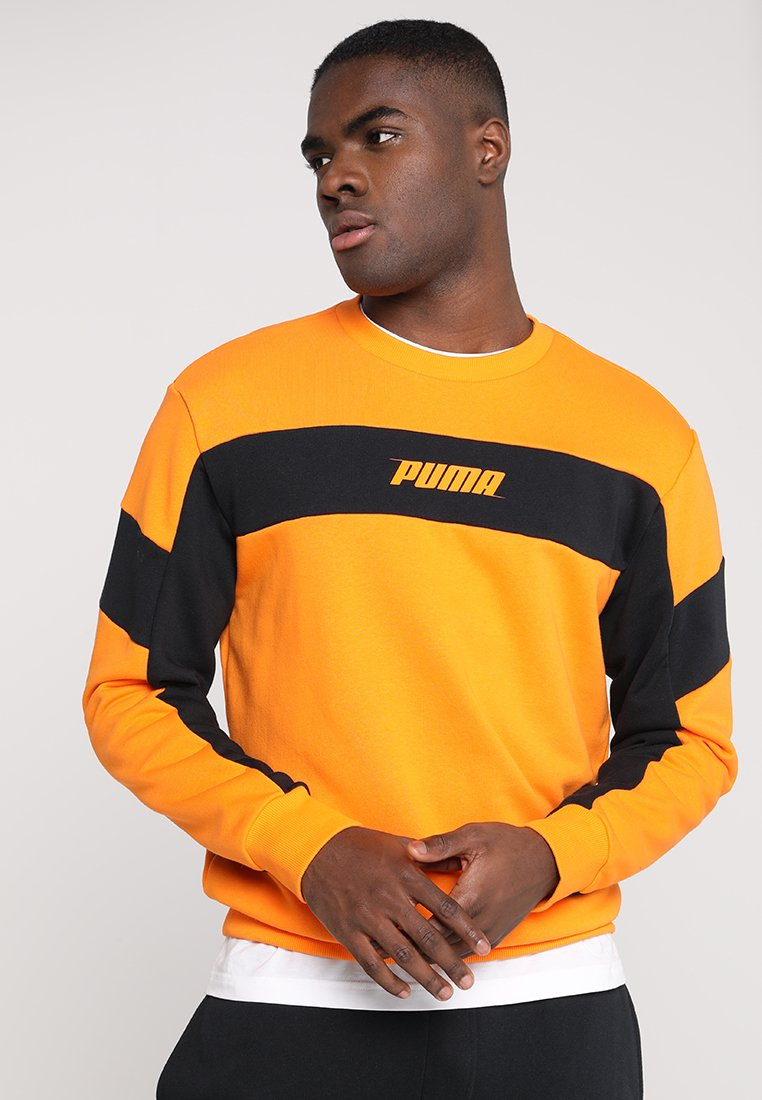 Puma - REBEL CREW - Sweatshirts - orange popsicle