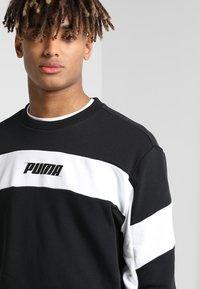 Puma - REBEL CREW - Sweatshirts - black - 3