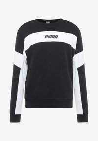 Puma - REBEL CREW - Sweatshirts - black - 4