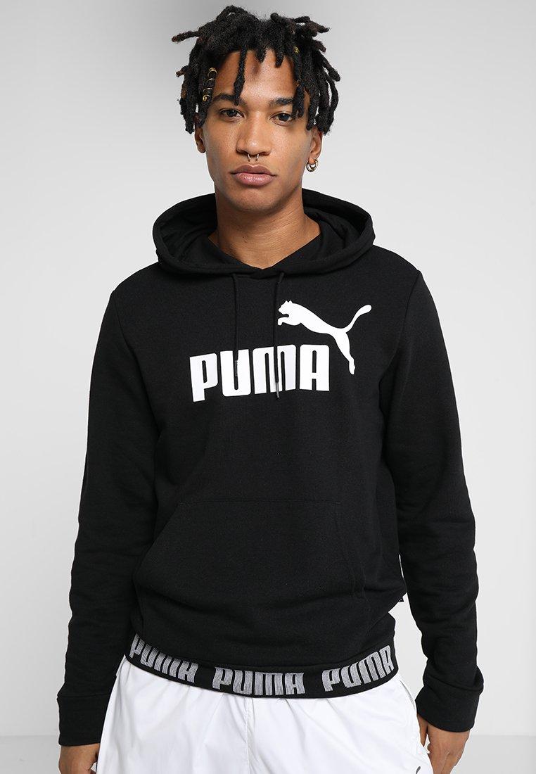 Puma - AMPLIFIED HOODY - Hættetrøjer - cotton black