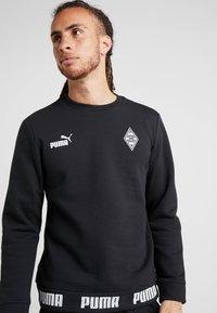 Puma - BORUSSIA MÖNCHENGLADBACH CULTURE SWEATER - Club wear - puma black - 4