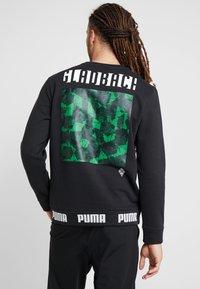 Puma - BORUSSIA MÖNCHENGLADBACH CULTURE SWEATER - Club wear - puma black - 2