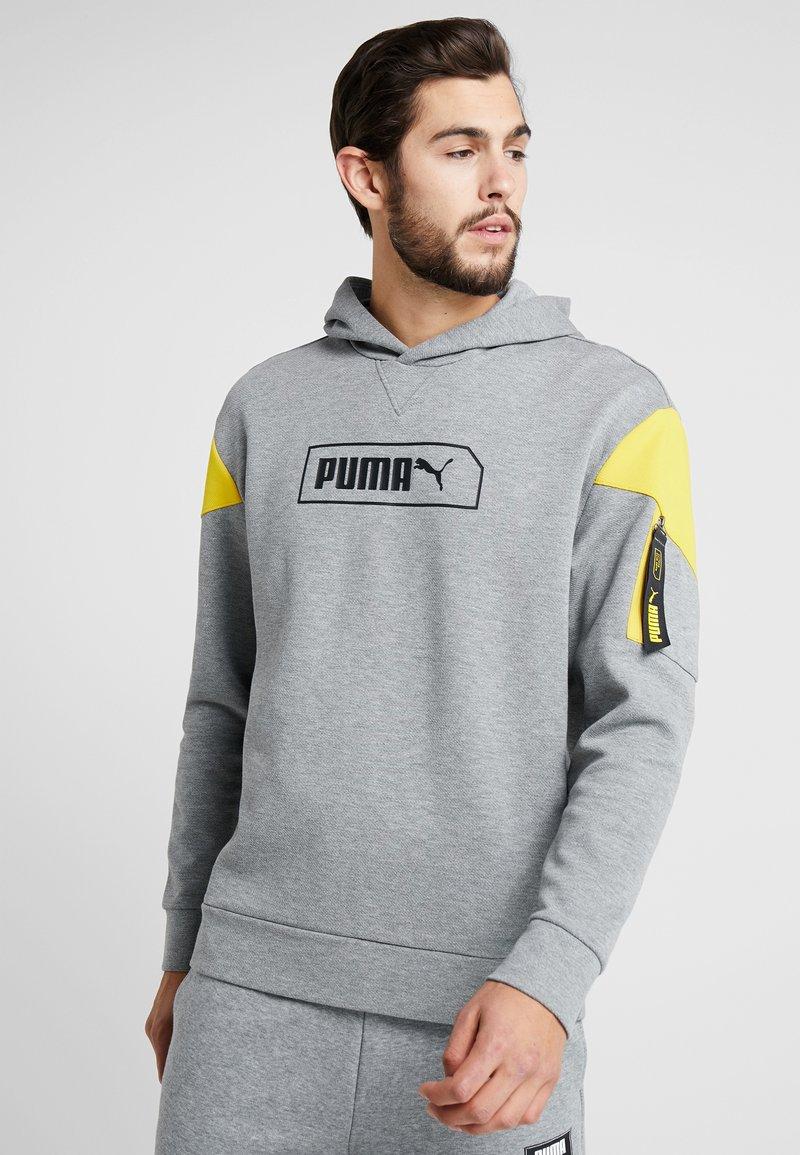 Puma - NU-TILITY  - Kapuzenpullover - medium gray heather