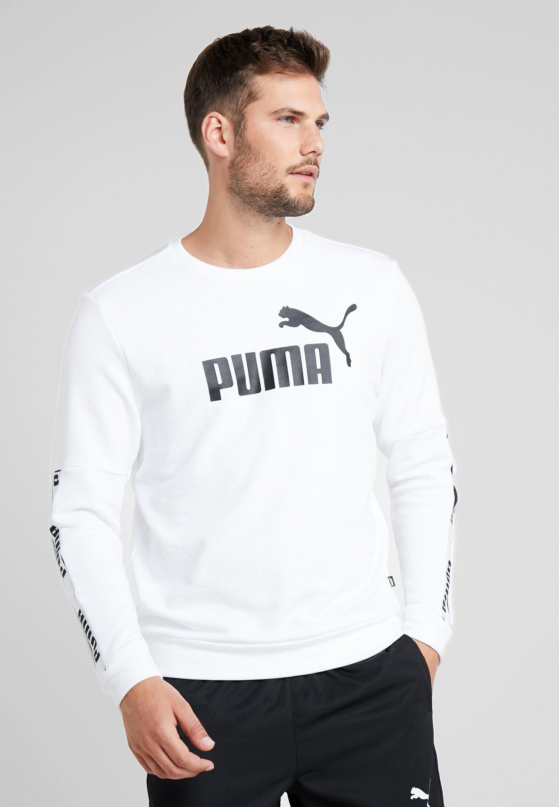 CrewSweatshirt White White Puma Amplified Amplified Puma Puma CrewSweatshirt 3qRAj45L