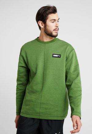 FUSION CREW - Sweatshirt - garden green