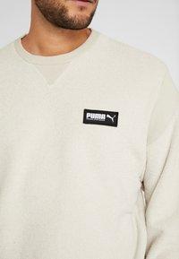 Puma - FUSION CREW - Sweatshirt - overcast - 5