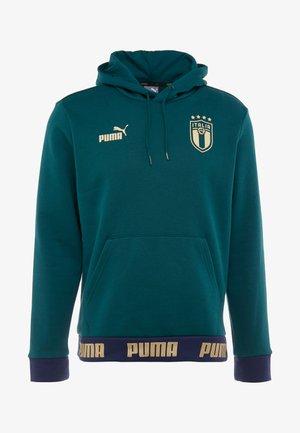 ITALIEN HOODY - Mikina skapucí - ponderosa pine/gold
